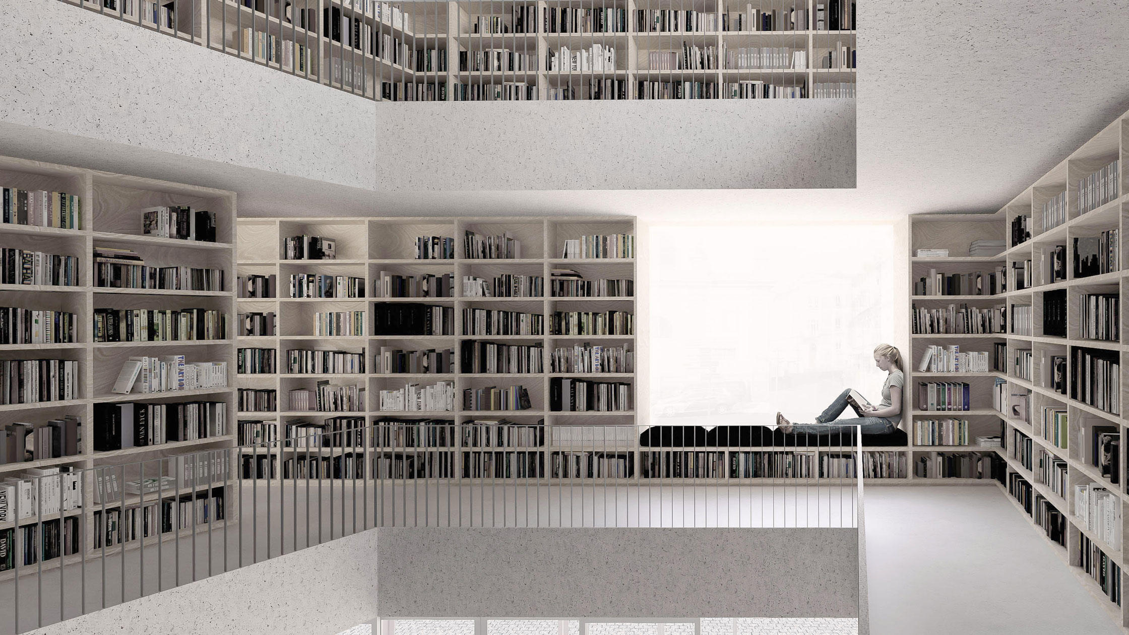 Zavoral Architekt Knihovna, Česká Lípa