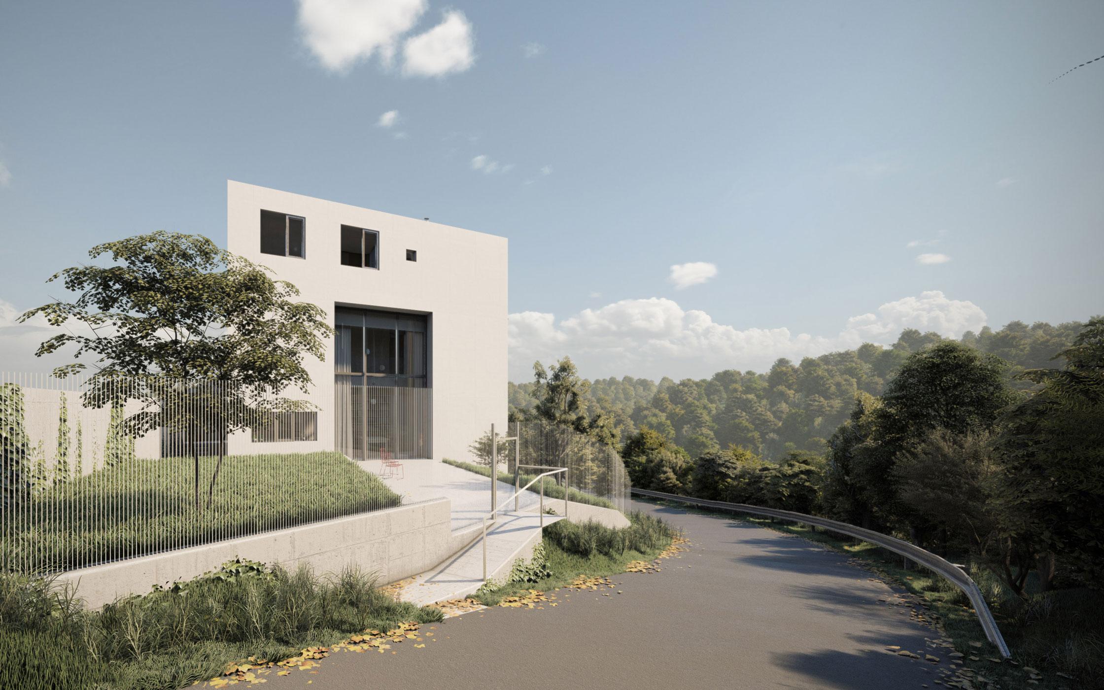 Zavoral Architekt Rodinný dům Štechovice