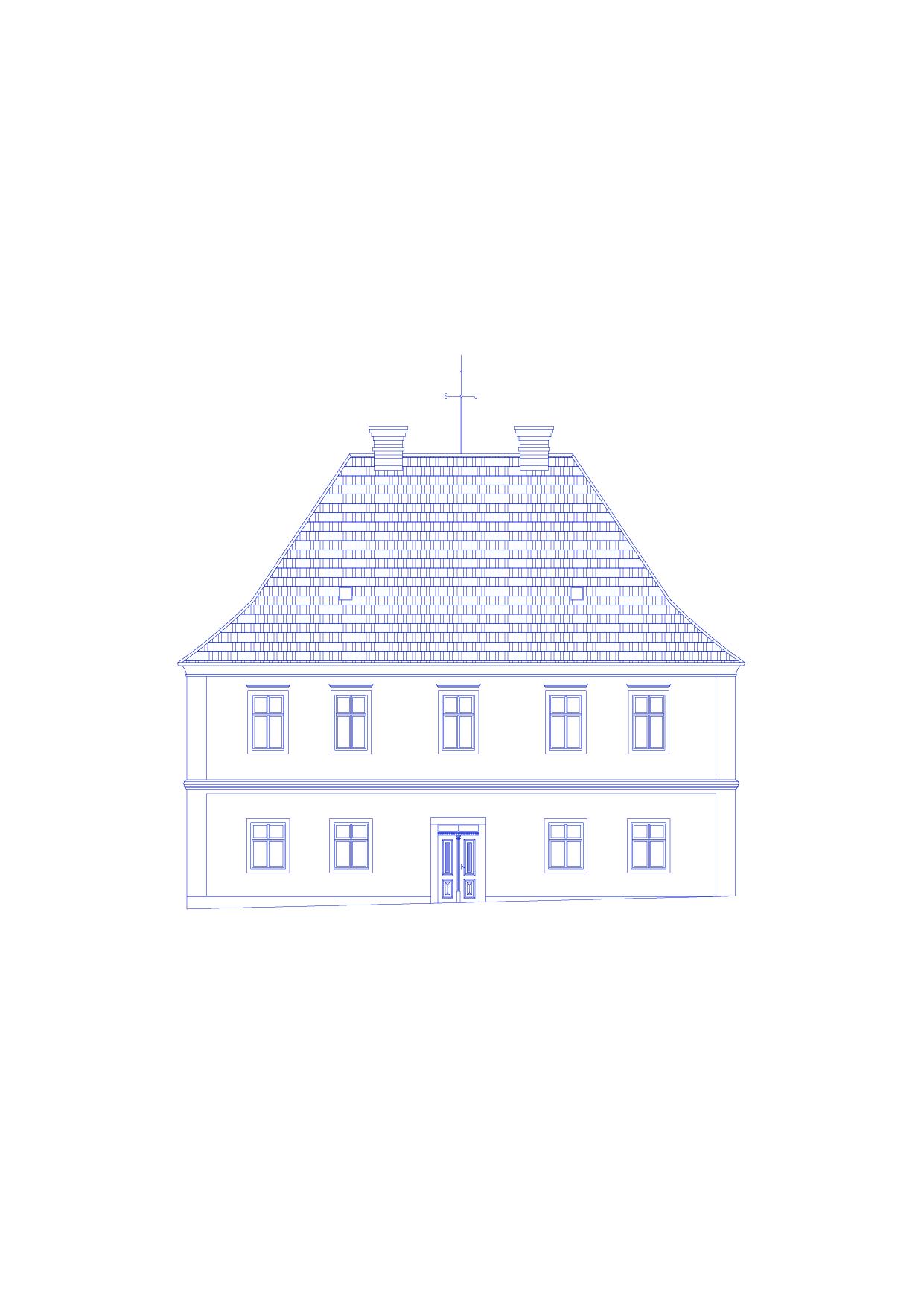 Zavoral Architekt Adaptace fary na RD, Řepníky