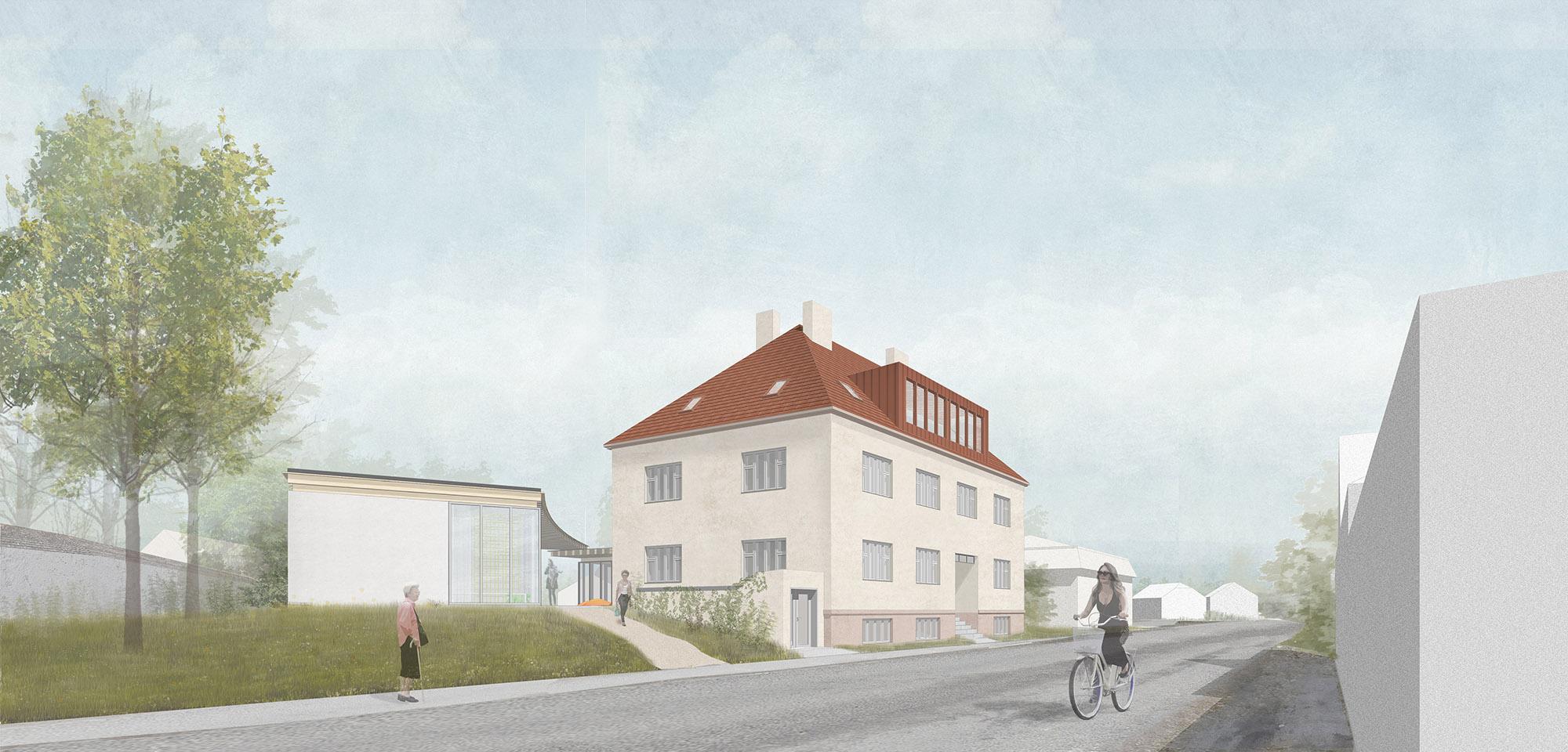Zavoral Architekt Obecní dům Sebranice